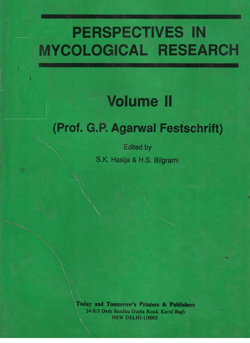 Perspectives in Mycological Research Vol. 2 (International Bioscience Series-15)