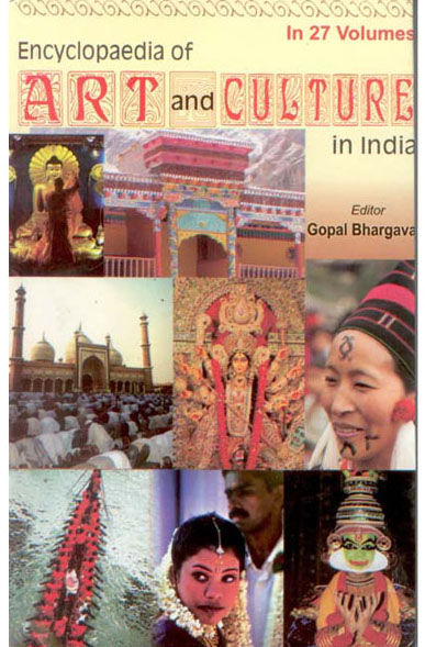 Encyclopaedia Of Art And Culture In India (Volume 10) (Madhya Pradesh)
