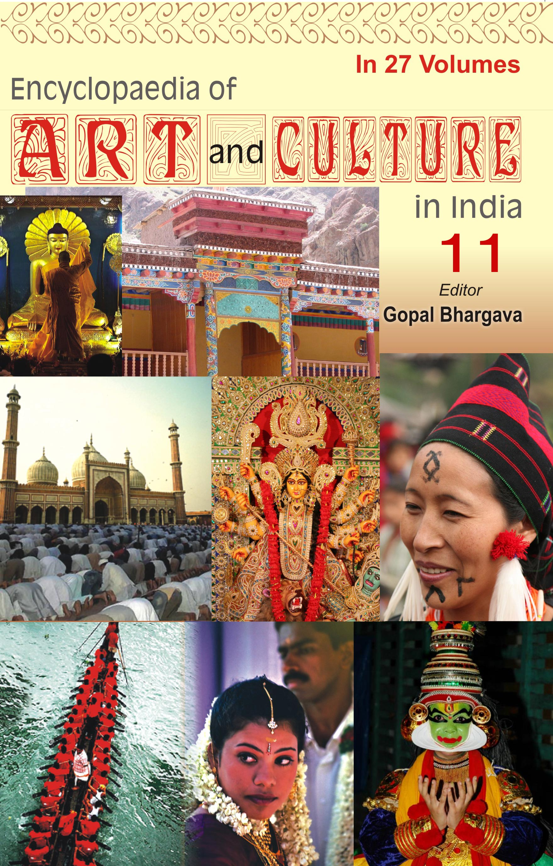 Encyclopaedia Of Art And Culture In India (Volume-11) (Chhattisgarh)
