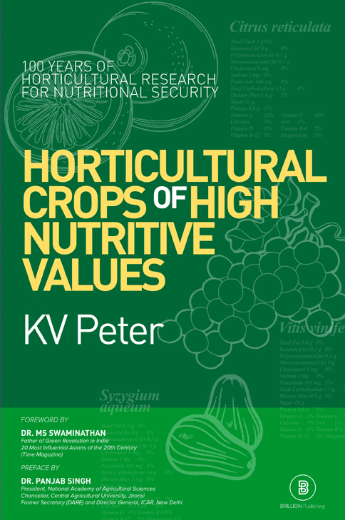 Horticultural Crops of High Nutritive Values