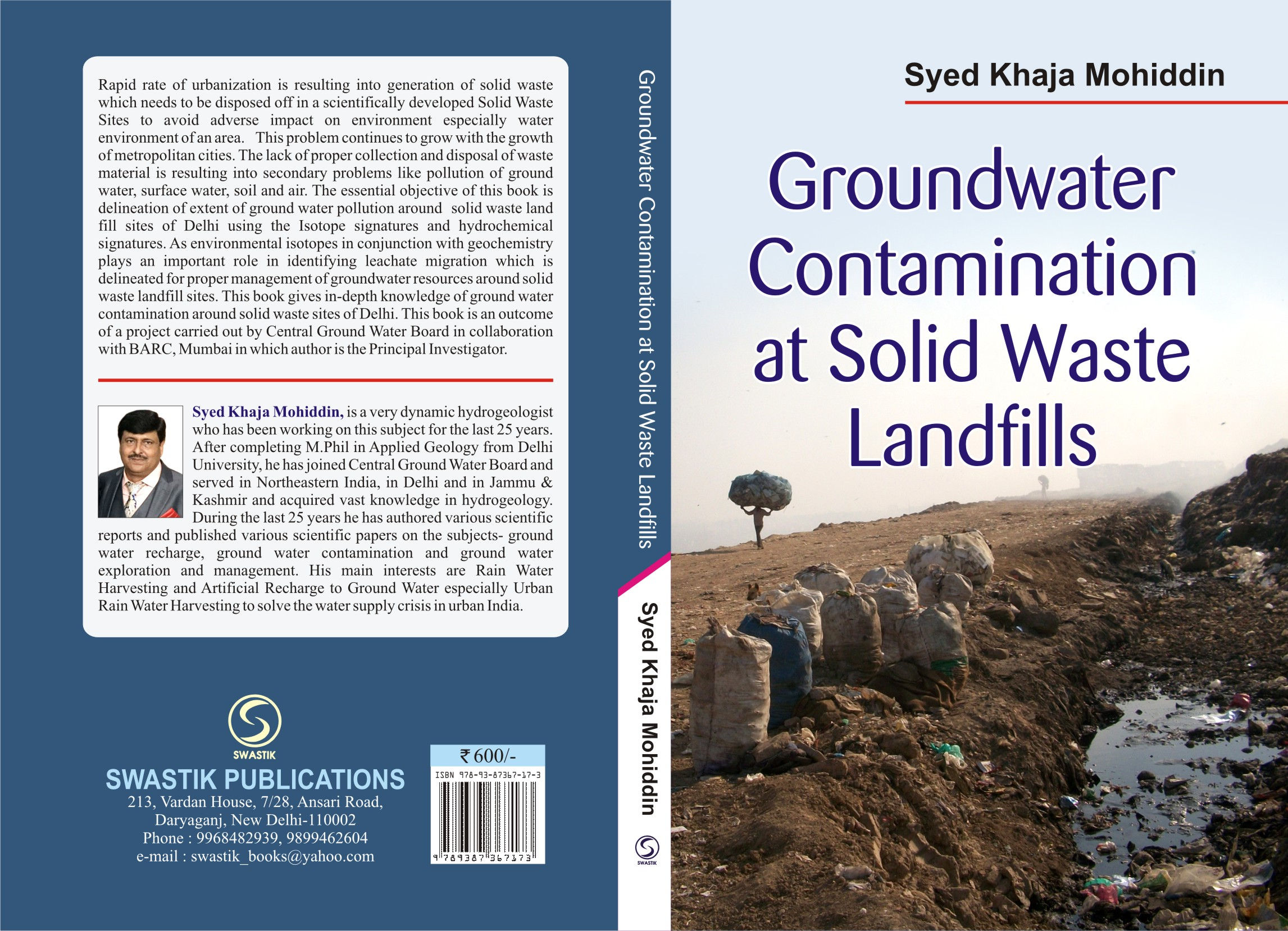 Ground Water Contamination at Solid Waste Landfills